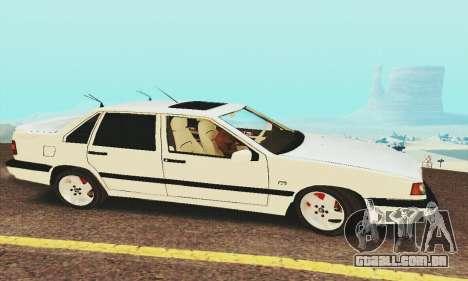 Volvo 850 para GTA San Andreas traseira esquerda vista