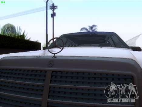 Mercedes-Benz E-Class W124 para GTA San Andreas vista interior