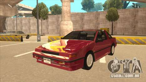 Nissan EXA L.A. Version para GTA San Andreas