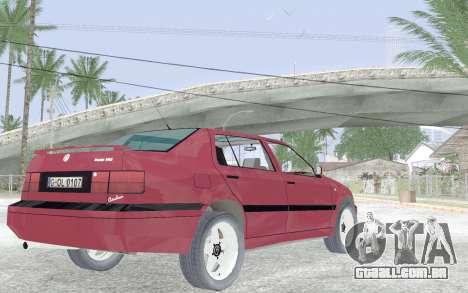Volkswagen Vento para GTA San Andreas vista direita