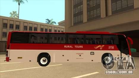 Rural Tours 2732 para GTA San Andreas traseira esquerda vista