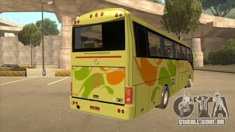 Higer KLQ6129QE - Super Five Transport S 023 para GTA San Andreas vista direita