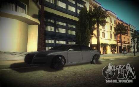Audi A8L D3 para GTA San Andreas vista interior