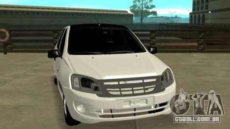 Lada Grant para GTA San Andreas vista traseira