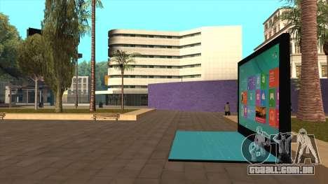 Superfície gigante 2 de Londres para GTA San Andreas segunda tela