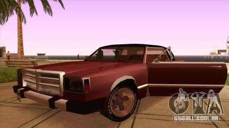 Feltzer C107 coupe para GTA San Andreas vista interior