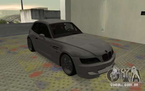 BMW Z3 M Power 2002 para GTA San Andreas esquerda vista