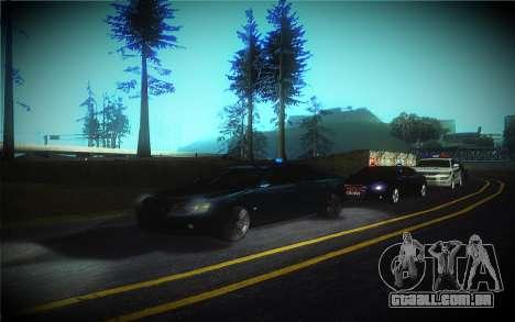 Audi A8L D3 para GTA San Andreas vista superior