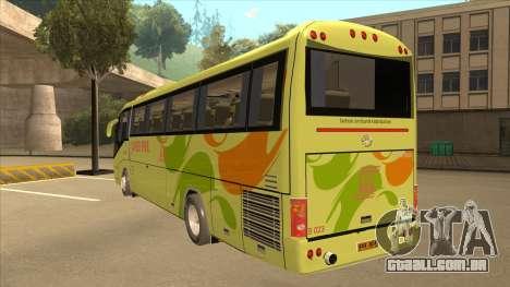 Higer KLQ6129QE - Super Five Transport S 023 para GTA San Andreas vista traseira