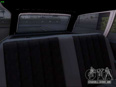 Mercedes-Benz E-Class W124 para GTA San Andreas vista superior