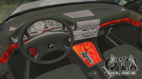 BMW 535 E34 Touring para GTA 4 vista lateral