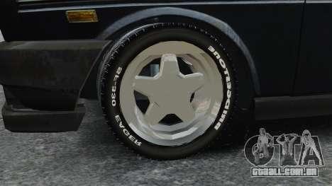 Fiat 131 para GTA 4 vista de volta
