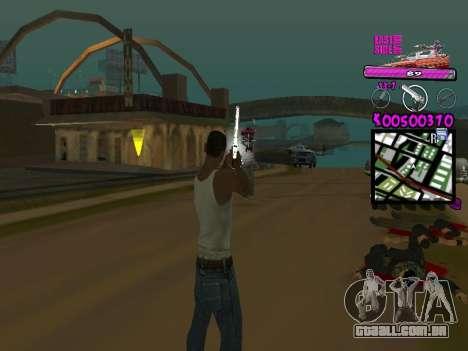 C-HUD by Kerro Diaz [ Ballas ] para GTA San Andreas segunda tela