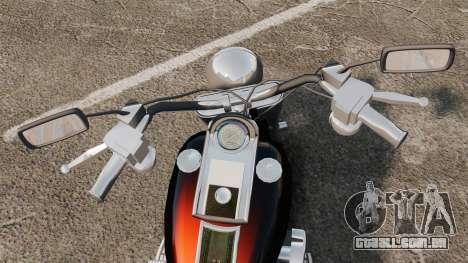 Harley-Davidson para GTA 4 vista direita