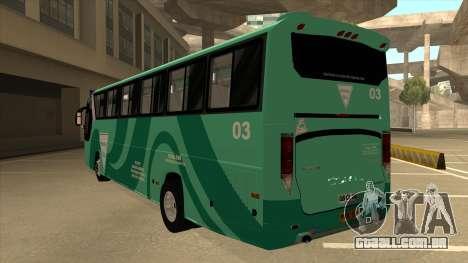 Holiday Bus 03 para GTA San Andreas vista traseira