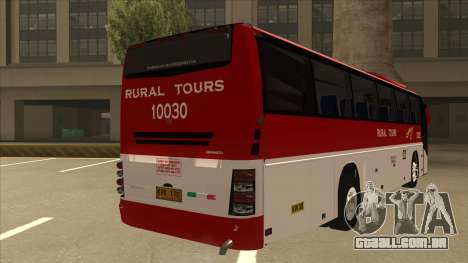 Rural Tours 10030 para GTA San Andreas vista direita