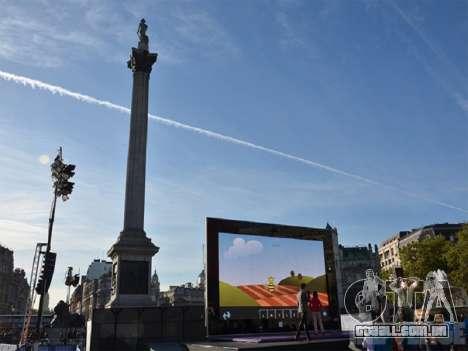 Superfície gigante 2 de Londres para GTA San Andreas por diante tela