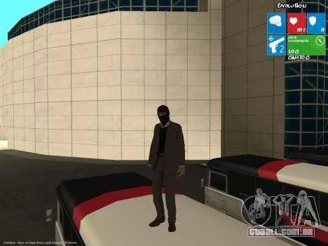 O ladrão de banco para GTA San Andreas