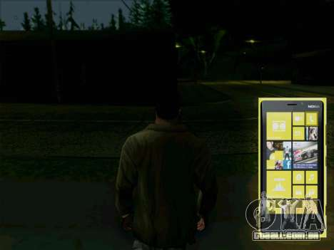 Telefone interativo para GTA San Andreas