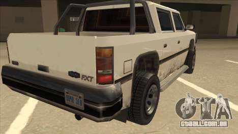 Declasse Rancher FXT para GTA San Andreas vista direita