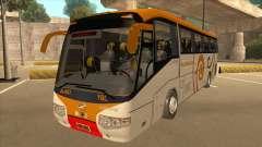 Higer KLQ6129QE - Yellow Bus Line A-001 para GTA San Andreas