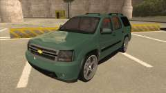 Chevrolet Tahoe Sound Car The Adiccion para GTA San Andreas