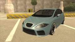 Seat Leon Clean Tuning para GTA San Andreas