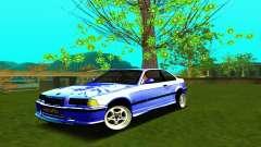 BMW E36 Low and Slow para GTA San Andreas