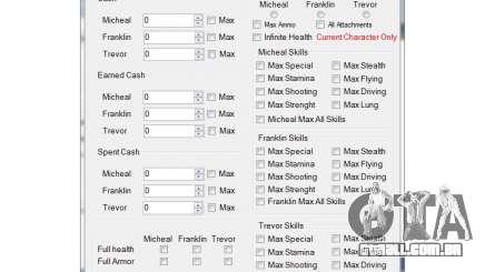 PS3 GTA V Save Editor para GTA 5