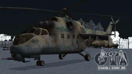 O MI-24 p para GTA San Andreas