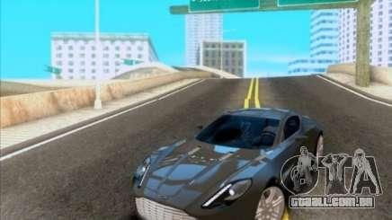 Aston Martin One-77 para GTA San Andreas