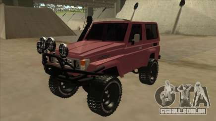 Toyota Machito Fj70 2009 V2 para GTA San Andreas