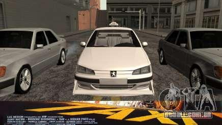 Peugeot 406 Taxi v2 para GTA San Andreas