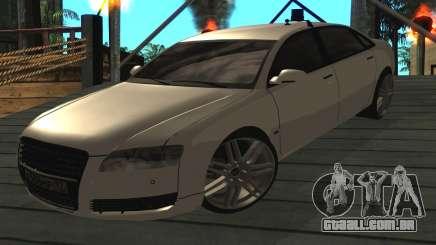 Audi A8L D3 para GTA San Andreas
