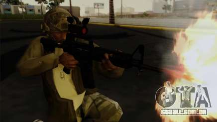 Capacete de Call of Duty MW3 para GTA San Andreas