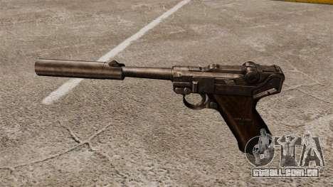 Pistola Parabellum v2 para GTA 4 terceira tela