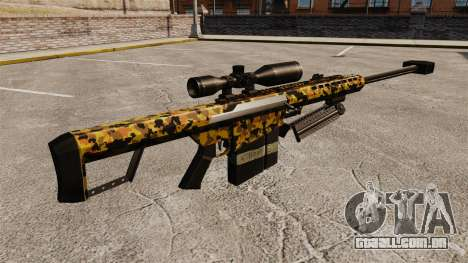 O Barrett M82 sniper rifle v12 para GTA 4 segundo screenshot