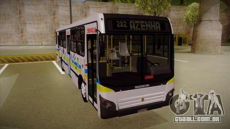 Busscar Urbanuss Ecoss MB OF 1722 M Porto Alegre para GTA San Andreas esquerda vista