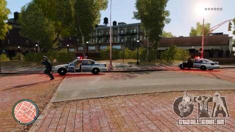 Sem traços de polícia para GTA 4 terceira tela