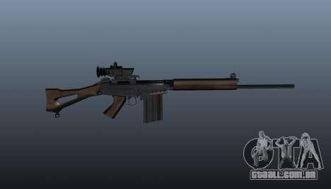 Fuzil FN FAL para GTA 4 terceira tela