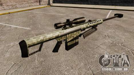 O Barrett M82 sniper rifle v8 para GTA 4 segundo screenshot