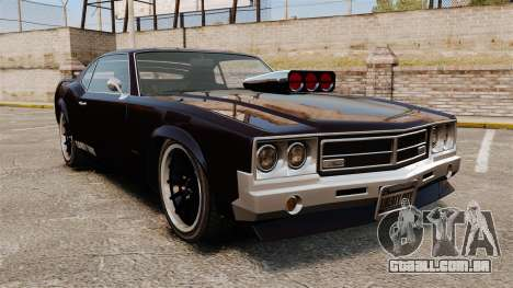 A nova versão do GT Sabre para GTA 4