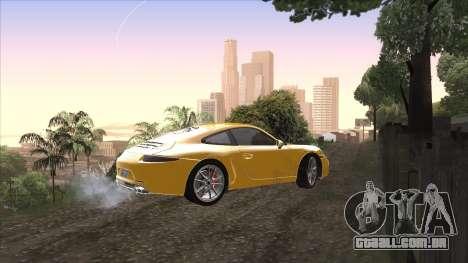 ENB para PC a partir de OlliTviks para GTA San Andreas por diante tela