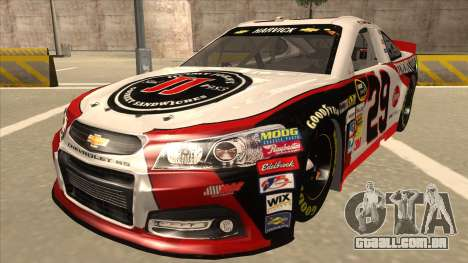 Chevrolet SS NASCAR No. 29 Jimmy Johns para GTA San Andreas