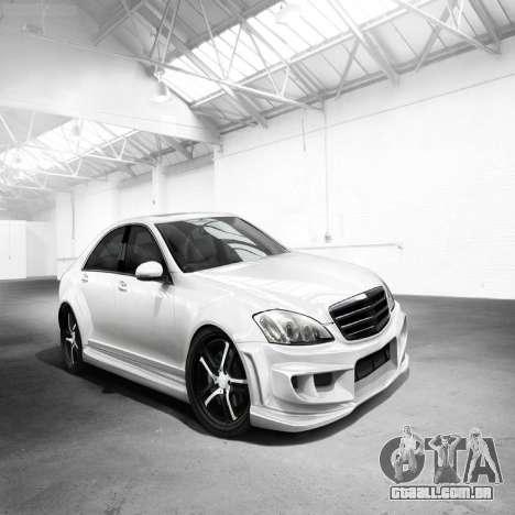 Telas de carregamento, Mercedes-Benz para GTA 4 sétima tela