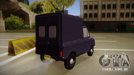 Suzulight Carry 360 para GTA San Andreas vista interior