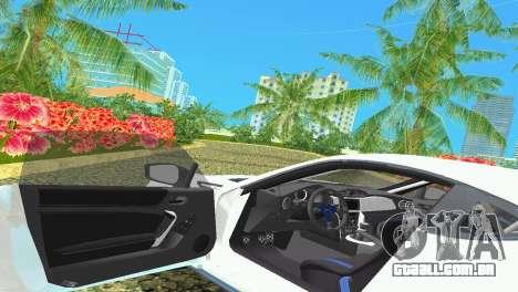 Subaru BRZ Type 4 para GTA Vice City vista lateral