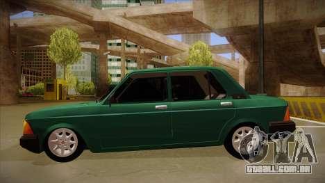 Fiat 128 Super Europa para GTA San Andreas traseira esquerda vista