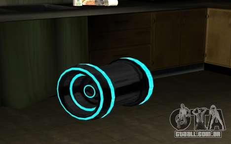 Blaster para GTA San Andreas segunda tela