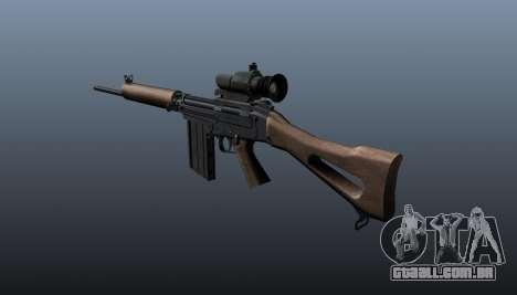 Fuzil FN FAL para GTA 4 segundo screenshot